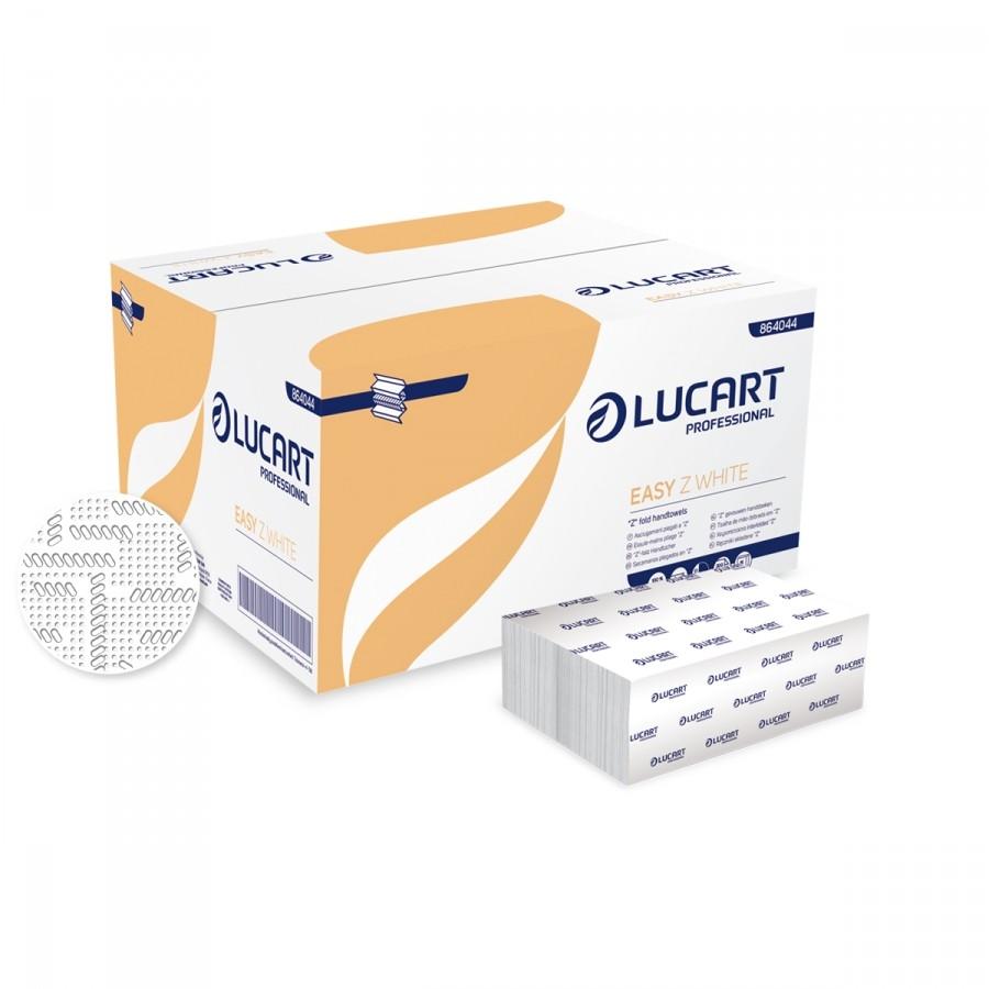 Papierhandtücher Lucart Premio , weiß