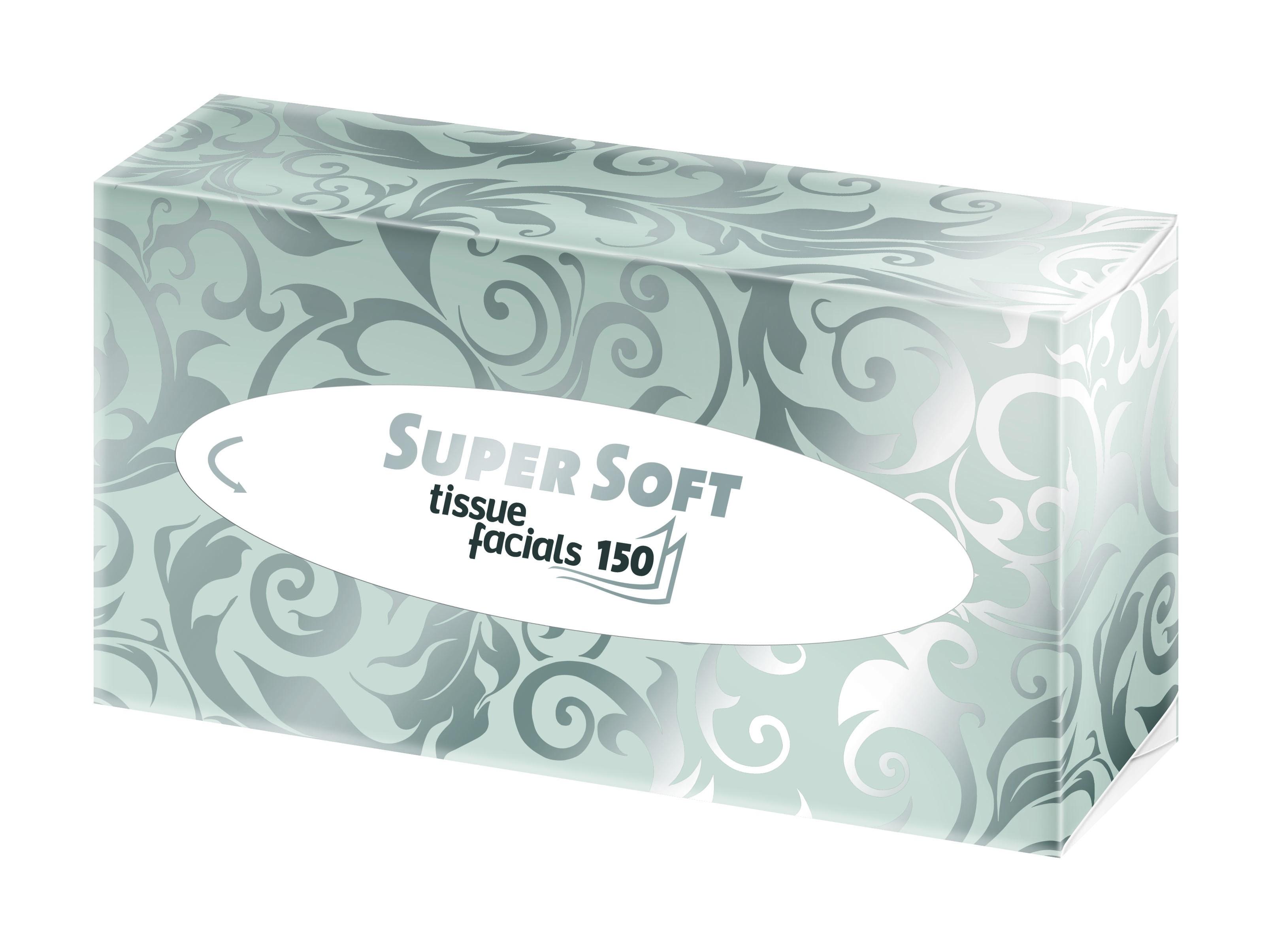 Kosmetiktücher Wepa Super Soft hochweiß 2-lagig