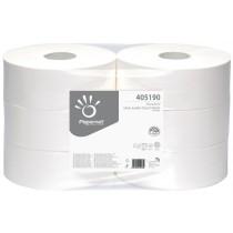 Toilettenpapier Grossrolle Recycling natur 1-lagig