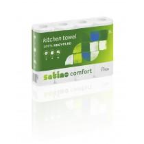 Saugrolle Wepa Comfort hochweiß 3-lagig